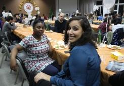 Fortune Sanyanga and Rasha Altaher