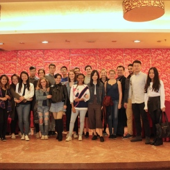 CAs and international students after Dim Sum