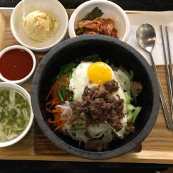 Korean Bibimbap in Pingshan