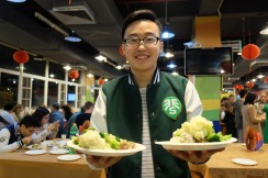 Xiujie and food